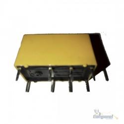 Relé 12V 8 terminais Miniatura Sensível - 2 Contatos Reversíveis 1A